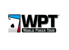 World Poker Tour Logo - White