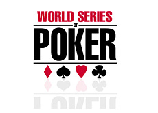 world series of poker logo - reflecting shadow