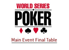 world series of poker logo - final table - main event - 2008