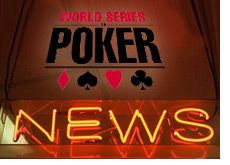 world series of poker news - wsop update