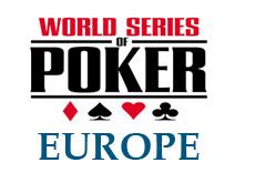 wsope logo - world series of poker europe